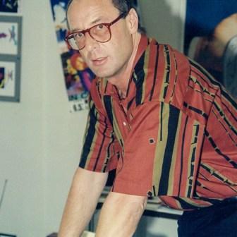 Der ehemalige Chefredakteur Hermann Haupt.