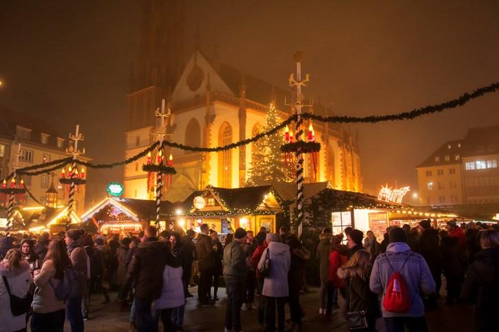 Weihnachtsmarkt 2019 im Nebel.