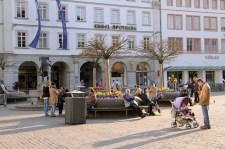 """""""Frühlingsgefühle"""" am Oberen Markt"""