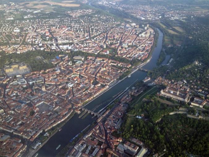 Altstadt und Festung Marienberg