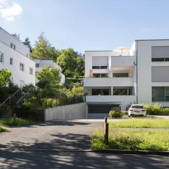 Stilvolle Neubauten im Steinbachtal