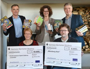 15.000 Euro für Lese-Projekte in Würzburg (Foto: J. Untch/Vogel Business Media)