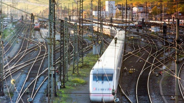 Bahnhverkehr am Würzburger Hauptbahnhof (Archivfoto: wuerzburg24.com)