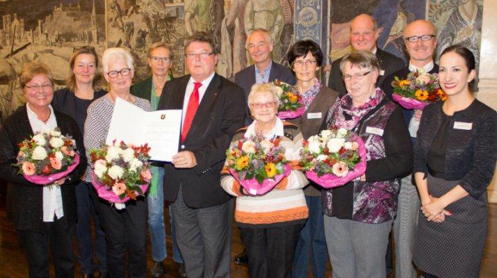 Bürgersozialpreis 2016: Unterstützung durch Gebärden