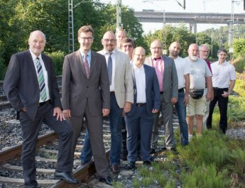 """""""Großer Bahnhof"""" für wiederbelebten Bahnhaltepunkt"""