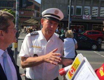 ACE zählt abgelenkte Fußgänger in Würzburg