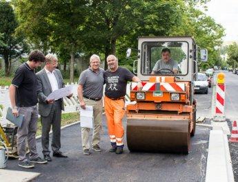 Würzburg Bushaltestellen werden barrierefrei