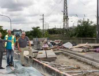 Überführung über die Auverastraße wird erneuert