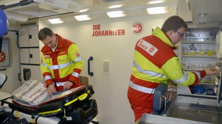 Zusätzliche Rettungswagen dank ehrenamtlicher Helfer im Einsatz
