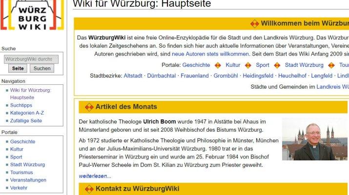 Würzburgs kollektives Digitalgedächtnis feiert 10. Geburtstag