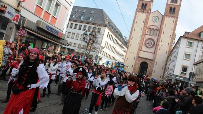Fasching in Würzburg