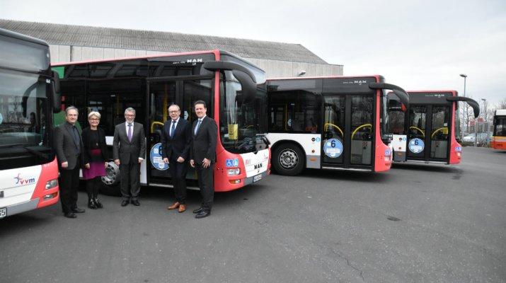 90 Prozent weniger Stickoxide bei den Bussen der WVV