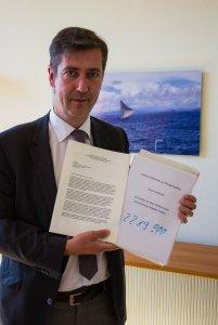 Schreiben an Innenminister Salvini: Über 2200 Unterschriften gehen in die Post