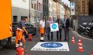 Vorfahrt frei für Würzburgs erste Fahrradstraße