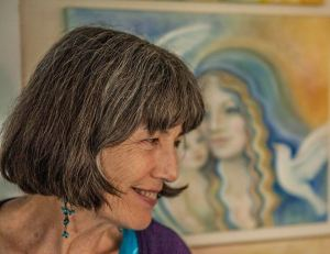 Intuitive Feminine Art - Bernadette Wulf - WulfWorks Visionary Art - Photo by Benjamin Aronoff