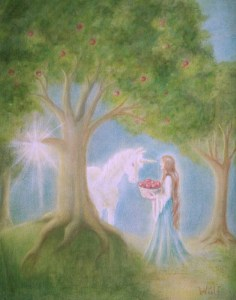 Apples of Avalon - Copyright Bernadette Wulf