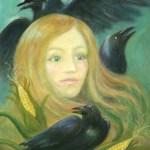 Crow Queen - copyright Bernadette Wulf