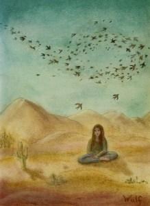 Desert Mantra - Copyright Bernadette Wulf