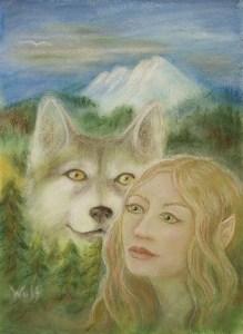 Elven Dream - copyright Bernadette Wulf