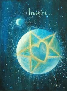 Imagine - Copyright Bernadette Wulf