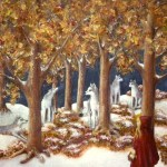 Red Ridinghood Comes Home - Copyright Bernadette Wulf