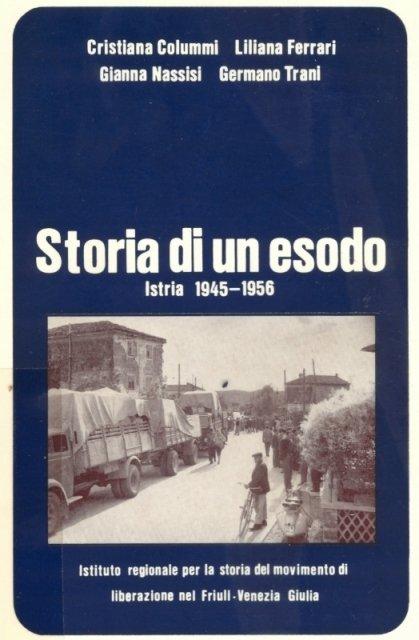 Storia di un Esodo - la copertina