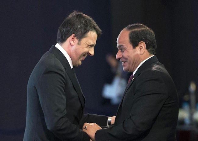 Amiconi: Renzi e al-Sisi