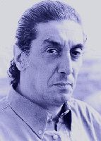 Lo scrittore Giuseppe Genna, oggi, 2006