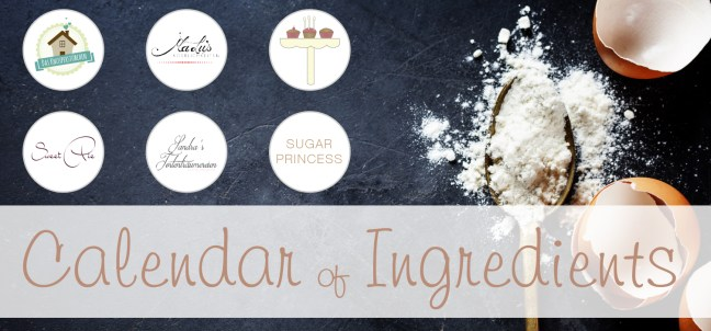 Banner Calendar of Ingredients