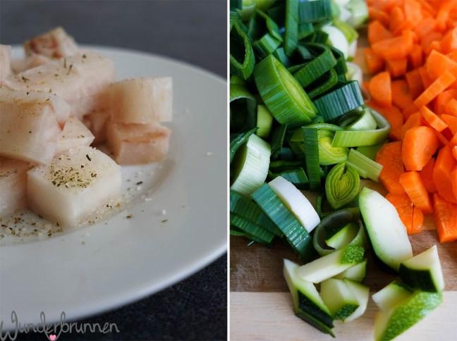 Fischpfanne Helgoland - Zutaten - Wunderbrunnen - Foodblog - Fotografie