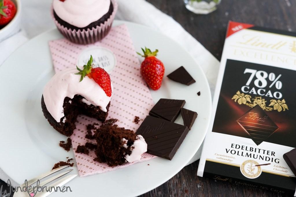 Schokoladen-Cupcakes - Wunderbrunnen - Foodblog - Fotografie