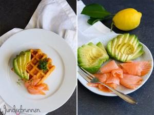 Privates Foodbloggercamp - herzhafte Waffeln - Wunderbrunnen - Foodblog - Fotografie