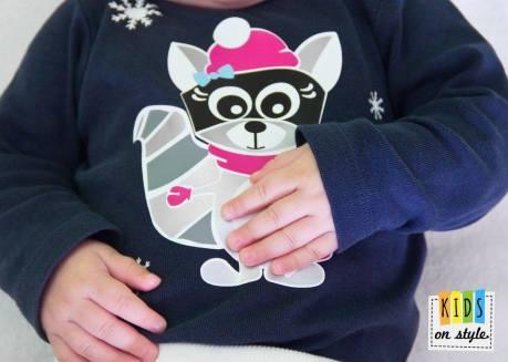 Kids on style_Rosa Raccoon Winter2