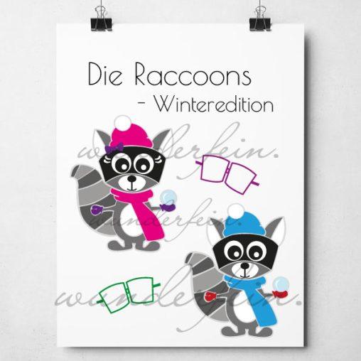 Die-Raccoons-Winteredition