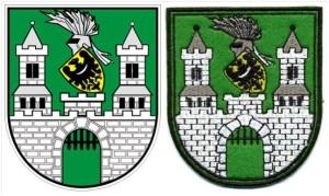"""Zielona Góra - Entwurf und Aufnäher 3 3/4"""" (8.5cm)"""