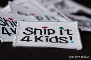 Aufnäher von Ship it 4 Kids