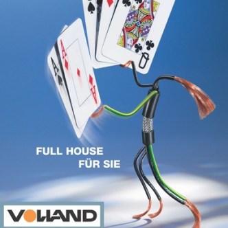 Handel: Fassadenplakat der Volland AG