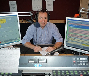 Mark Stonham - Business Development Consultant - in the hot seat at Ujima Radio
