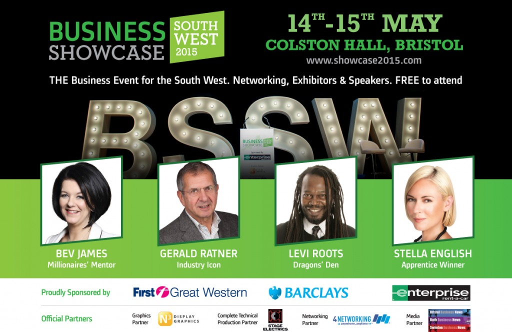 Business Showcase South West BSSW Colston Hall Bristol May 14 15 2015 Banner