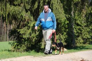 Entspanntes gehen mit Hund