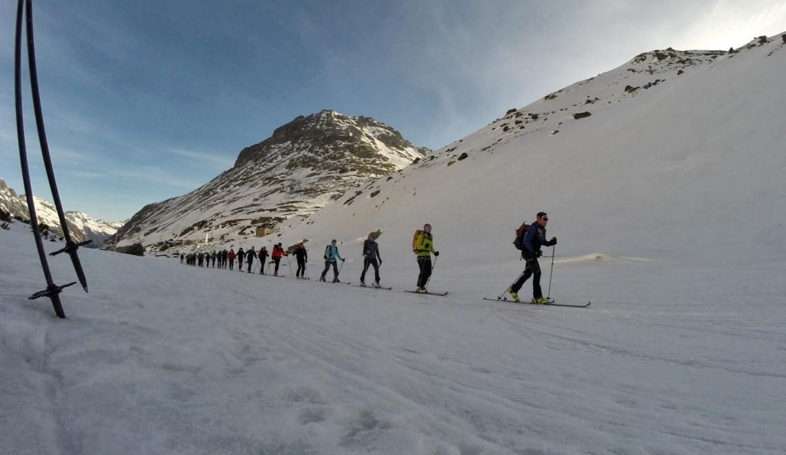 Hintere Jamspitze (3156m) – Vordere Jamspitze (3178m) – Dreiländerspitze (3179m) – ein Trio zum Verlieben mit dem AV Werfen