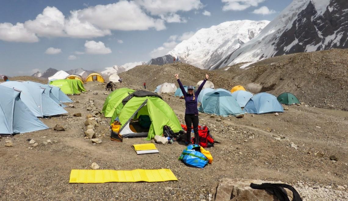 Pik Lenin (7134m) – Bergsteigerleben am Pik Lenin und der Pik Razdelnaya (6148m)