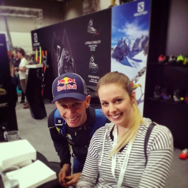 Besuch auf der Alpinmesse Innsbruck – Gänsehaut bei Simone Moro
