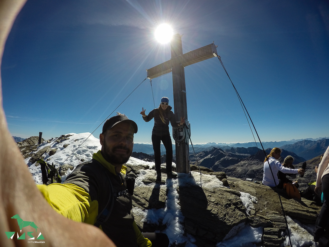 Gipfel Schareck (3123m) am 25.09.2016