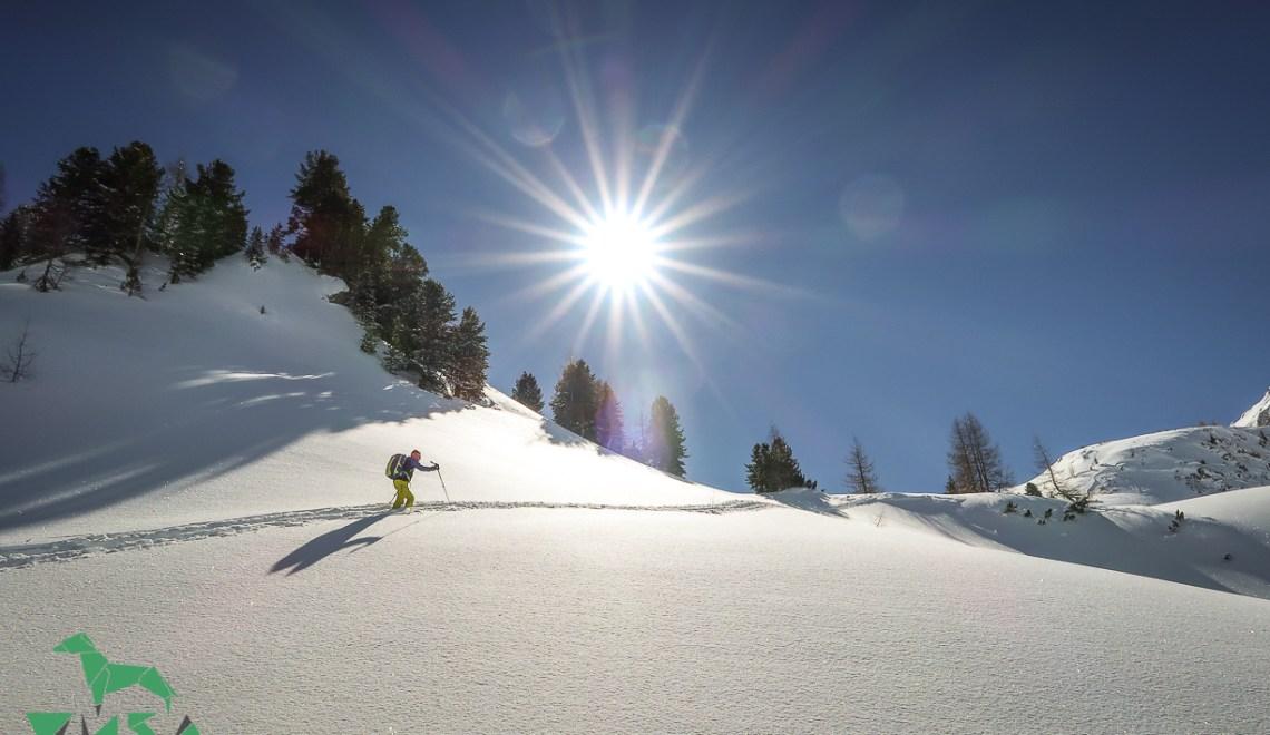 Kleiner Pleißlingkeil (2417m) – und endlich ist der Winter da, im März