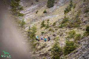 Gruppe bei der Trail Raid