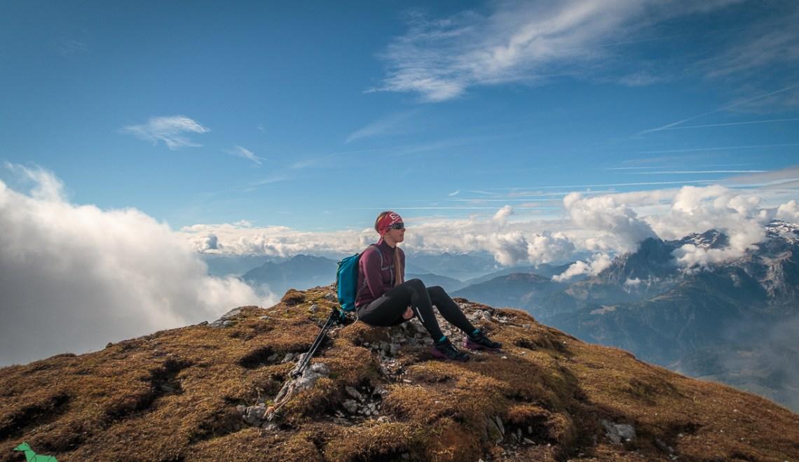 Großes Fieberhorn (2276m) – das Tennengebirge im Herbstkleid