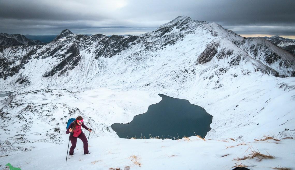 Tauernhöhe (2328m) – im Herbst bereits Winter