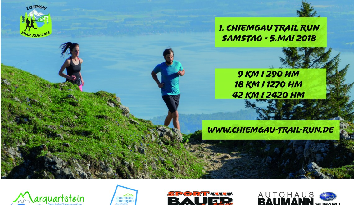 Chiemgau Trail Run Ankündigung