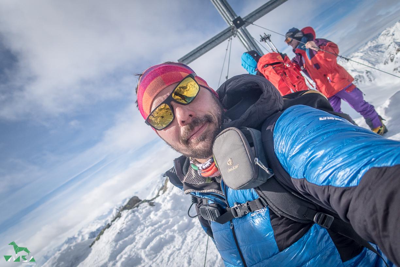 Gipfel Längentaler Weißer Kogel.